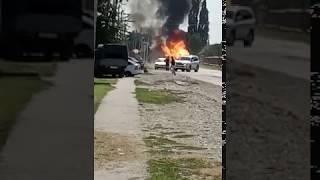 Сегодня в Чечне был очень большой зрыв