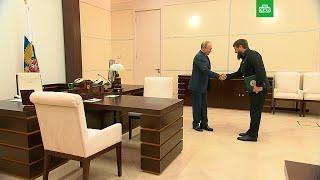 Путин пообещал Кадырову приехать в Чечню