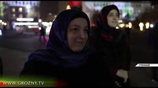 Рамзан Кадыров побывал на центральной Елке в Грозном