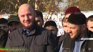 В Курчалое открыли проспект имени Ахмата-Хаджи Кадырова