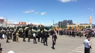 Город Грозный. Военный парад 09.05.2018