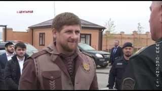 спецназ Рамзана Кадырова. показательные выступления в честь гостей из ОАЭ