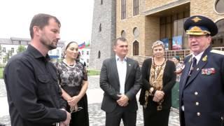 Передача в дар картины В К Мордовина в национальный музей ЧР г Грозный