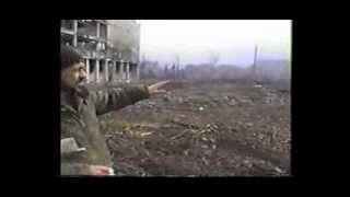Центр г.Грозный, после оставления его чеченскими бойцами. 1995 год (съёмка оккупантов)