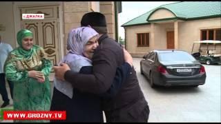Рамзан Кадыров поздравил семью Адама Делимханова с окончанием священного месяца