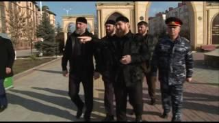 Побывал на аллее памяти Первого Президента ЧР, Героя России Ахмат Хаджи Кадырова в Магасе