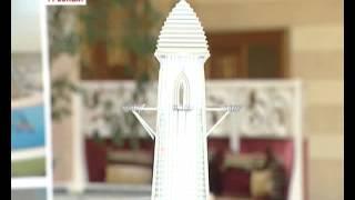 В Грозном построят «Башню Ахмат» высотой 400 метров.