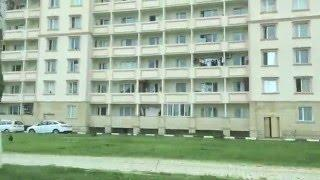 """2014.г.Грозный,проезд возле стадиона """" Ахмад Арена"""" и 6-м микрорайоном."""