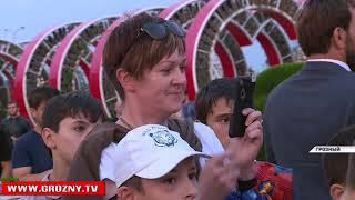 Рамзан Кадыров прогулялся по «Цветочному парку» в компании детей