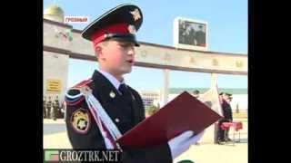 Курсанты Суворовского военного училища дали торжественное обещание