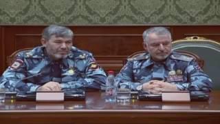 В Чеченской Республике прошла встреча с руководством МВД на тему борьба с наркоманией