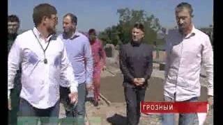 Рамзан Кадыров посетил новый парк Чечня.