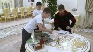 Рамзан Кадыров устроил проверку сыновьям