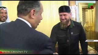 Рамзан Кадыров встретился с делегациями Кувейта и Иордании