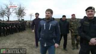они порвут бандеровцев на части - Рамзан Кадыров и СОБР «Терек»