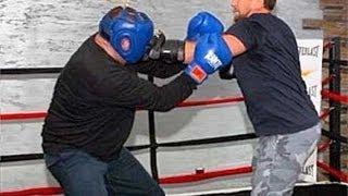Рамзан Кадыров избил на ринге министра по физкультуре и спорту