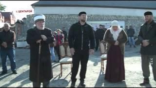 обряд жертвоприношения в доме Рамзана Кадырова. 6.10.2014, Центарой