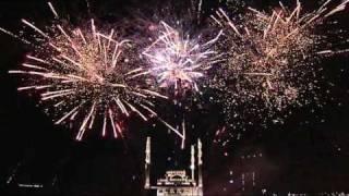 Grozny 2010 firework - Фейерверк в Грозном