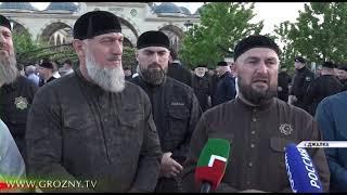В центральной мечети села Джалка вспомнили Ахмата-Хаджи Кадырова.