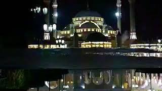 Мечеть Сердце Чечни ночью им Ахмата-Хаджи Кадырова Раджаб Тайсумов, ночной город Грозный