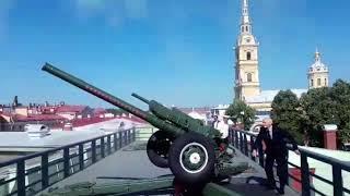 Пушка Петропавловки по поручению Рамзана Кадырова отметила день рождения Ахмата-Хаджи