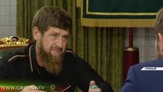 Рамзан Кадыров провёл встречу с министром культуры ЧР Хож-Бауди Дааевым