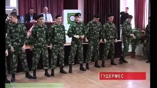 Жизнь чеченских суворовцев Чечня.