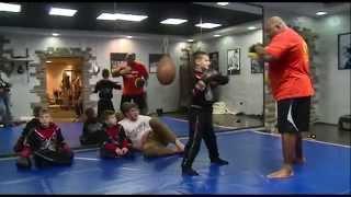 Рамзан Кадыров - Тренировка Ахмада, Эли и Адама