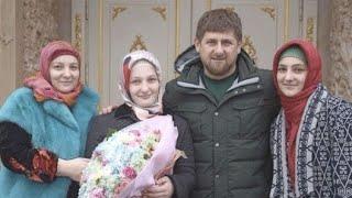 РАМЗАН КАДЫРОВ Хадижат Кадырова привыкла постоянно заниматься организацией  праздников для младших б