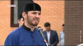 В Грозном открыли сразу две мечети