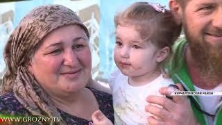 Рамзан Кадыров совершил вечернюю пробежку от родового села Хоси-Юрт до поселка Ойсхара