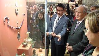 """Минтимер Шаймиев открыл выставку """"Путешествие Ибн Фадлана"""" в казанском Кремле"""