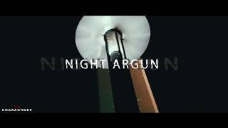 Красота ночного города - Аргун, Чеченская Республика