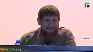 В Чечне представили нового командира полка специального назначения имени Ахмата-Хаджи Кадырова