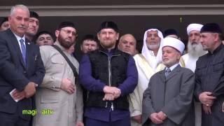 Рамзан Кадыров открывает мечеть в Израиле  в честь отца своего Ахмата-Хаджи Кадырова.
