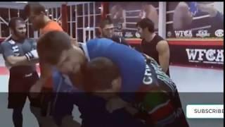 Khabib Nurmagomedov Training MMA With Ramzan Kadyrov Head Of The Chechen Republic
