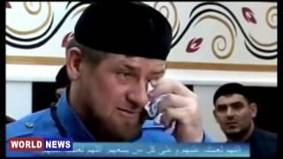 В Зеленский  95 квартал  обсмеял Рамзана Кадырова, когда тот скорбил о смерти своего отца!!!