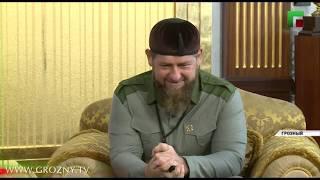 Рамзан Кадыров встретился с представительной делегацией из Узбекистана