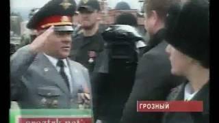 В Грозном прошел военный парад Чечня.