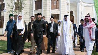 Рузба в самой большой мечети Европы.