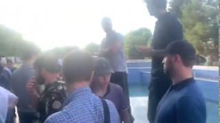 Возмущённые высказываниями Рамзана Кадырова об имаме Шамиле дагестанцы собрались в Махачкале