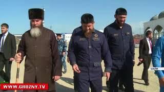 Рамзан Кадыров побывал с инспекционной поездкой в Шали