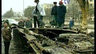 Чечня, Первая танковая атака на Грозный отбита. Ноябрь 1994 г. Кинохроника