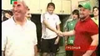 Рамзан Кадыров после матча Терек - Спартак (Москва)
