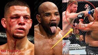 ЛЮТАЯ МЯСОРУБКА НА UFC 241! ОГРАБЛЕНИЕ КУБИНЦА, СЕНСАЦИЯ В ГЛАВНОМ БОЮ И ВОЗВРАЩЕНИЕ ДИАЗА!
