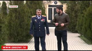 Профессиональный праздник УФСИН Чечни