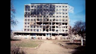 Военная зима в городе Грозный 1995 .