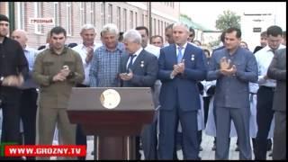 Открытие школы №11 в г.Грозный