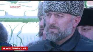 Рамзан Кадыров принял участие в открытии после реконструкции зиярата Кунта Хаджи