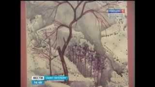 Выставка картин Гусейна Алиева в Санкт-Петербурге. Россия 1